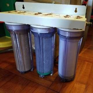 三重濾水器( 家用或魚缸換水用 ) 冇漏水