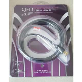 QED Performance Graphite USB Cable (A - Mini B)