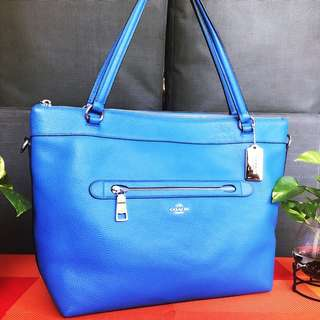 Coach electric blue