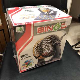Bingo Set - Brand New