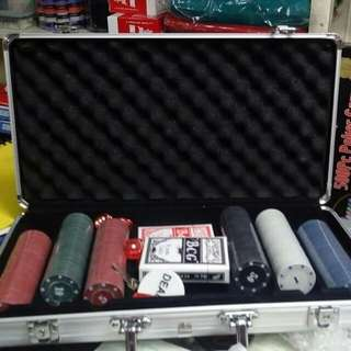 300Pc Poker Game Set in Aluminum case