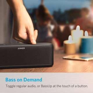 Anker SoundCore Boost 20W Bluetooth Speaker