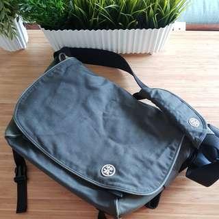 Crumpler Laptop Bag - Grey with Yellow Combi