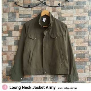 LONG NECK JACKET ARMY