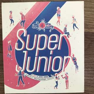 SUPER JUNIOR 6 vol - Superjunior Super Junior Spy