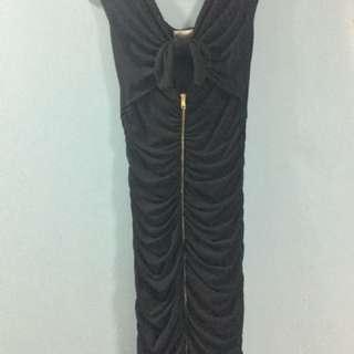 Marilyn Monroe Black party dress