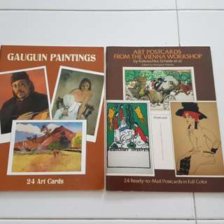 Postcard Arts: Gauguin Painting and The Vienna Workshop