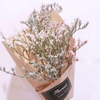 🚚 雪花乾燥花束