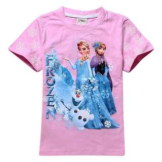 kids cotton frozen Tshirt