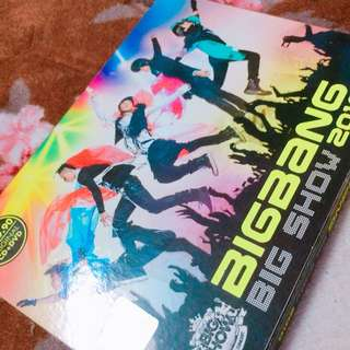BIGBANG BIGSHOW 2010 CONCERT DVD