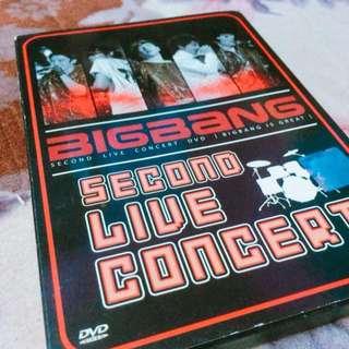 BIGBANG 2nd LIVE CONCERT DVD