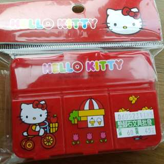 Hello Kitty pill box or container box