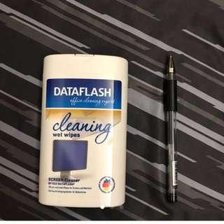 送/買原$98屛幕清潔巾德國free or buy dataflash Screen Cleaner Germany