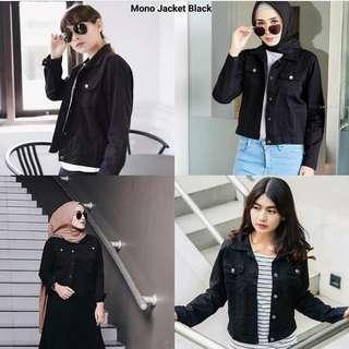 MONO JACKET BLACK
