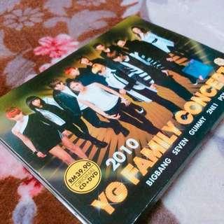 YG FAMILY CONCERT 2010 DVD & CD
