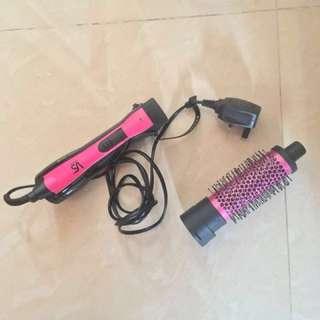🈹沙宣800瓦特電氣石陶瓷負離子熱風造型套裝💯Vidal Sassoon Hair Dryer Brush Set