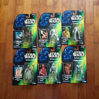 Star Wars Action Figures POTF