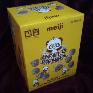 Hello Panda (chocolate biscuit- 10 boxes)