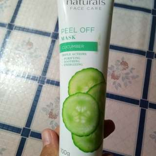 Avon Naturals Peel Off Mask in Cucumber