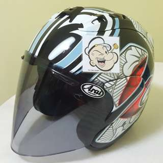 1002♡♡TSR RAM4 NAKANO Helmet CONVERT TO ARAI 🦀 For SALE, Yamaha Jupiter, Spark, Sniper,, Honda, SUZUKI
