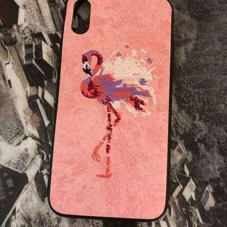 Apple I phone X 紅火鳥手感手機殼