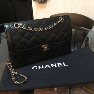 Paris Limited Double flats chain bag