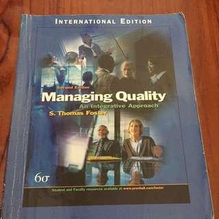 Managing Quality (Pearson)