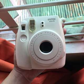 Fujiilm instax mini 8 color white