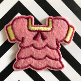 Bn top iron on patch