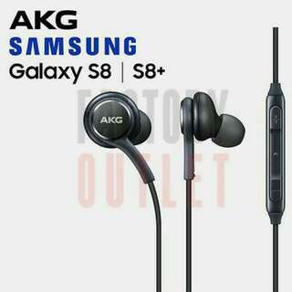 Genuine Black AKG Samsung Earphones Headphones For Samsung Galaxy S8 S8+
