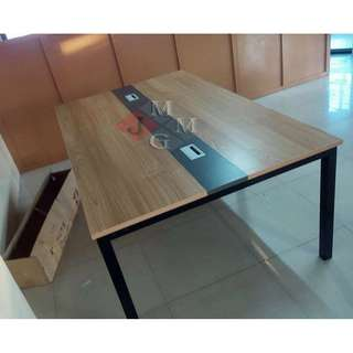 Conference Table with Metal Legs Office Furniture