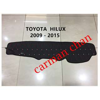TOYOTA OLD HILUX 2009 - 2015 DAD NON SLIP DASHBOARD COVER WITH DIAMOND