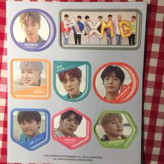 MONSTA X Seasons Greetings Magnets
