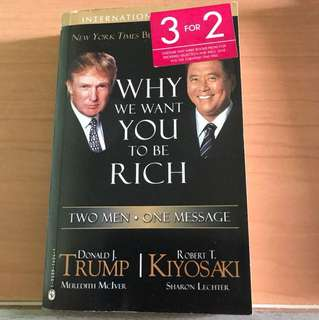 Selling why we want you to be rich