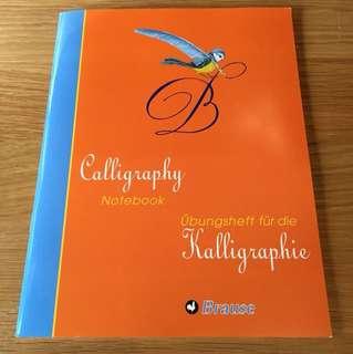 Calligraphy Notebook / Copybook (brand new)