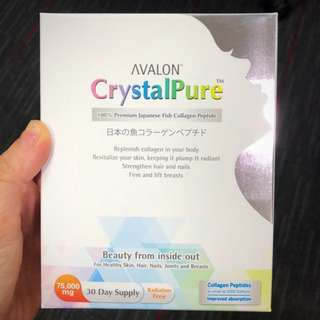 [BNIB] - AVALON CrystalPure 100% Pure Collagen <Made In Japan>