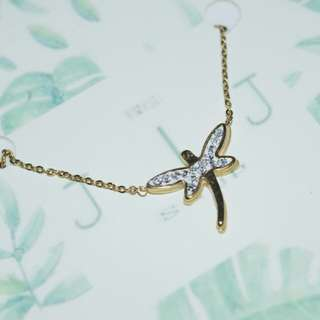 Dragonfly necklace STAINLESS