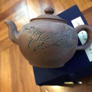 古董紫砂茶壺