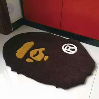 A Bathing Ape Floor Mat