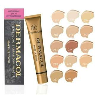 Dermacol Foundation instock/readystock