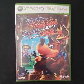 Xbox 360 Banjo Kazooie