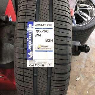 185/60/14 XM2 Michelin Tyre