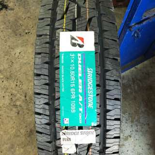 31/10.5/15 AT001 Bridgestone Tyre