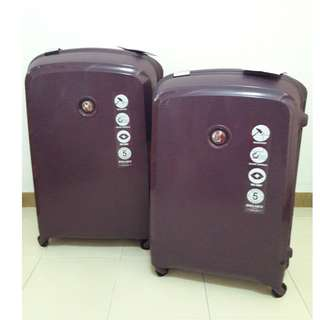 2 piece Delsey Luggages (worth $798)