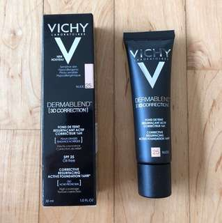Vichy dermablend [3d correction] foundation