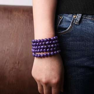 🚚 紫龍晶手鍊