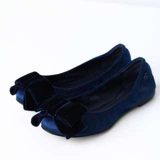 Tory Burch original size 35 dark blue