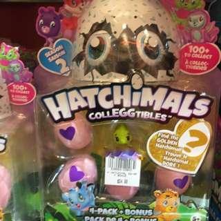 Hatchimals 4 Pack + Bonus BNIB