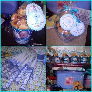 Accepting pre-order customized/themed souvenirs, invitations, candles for birthdays and baptismal events