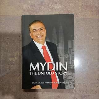 Mydin: The Untold Story - Biographical book by Datin Siti Hawa Mohd